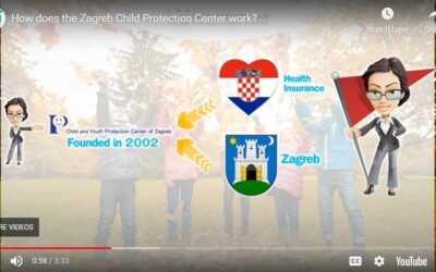 Video about how Zagreb Child Protection Center works