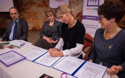 Hungary inaugurates Barnahus Goodwill Ambassador Tímea Nagy